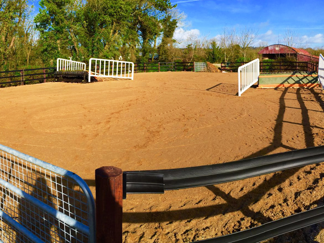 All Weather Sand Arena - Jonathan Fogarty Racing Wexford